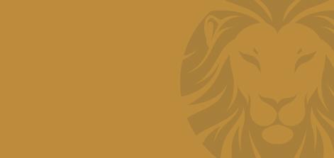 wesley golden lion banner